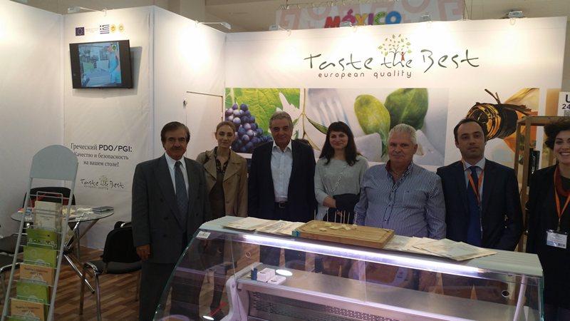 Έκθεση World Food Moscow 2014 – Επίσκεψη Έλληνα Πρέσβη